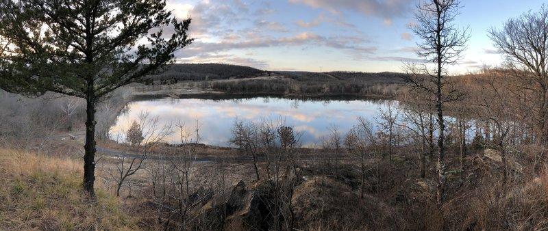 Lake Vian view from the Overlook Loop