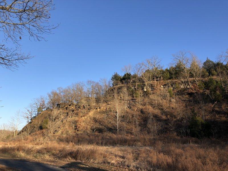 Overlook Loop is along this ridge.