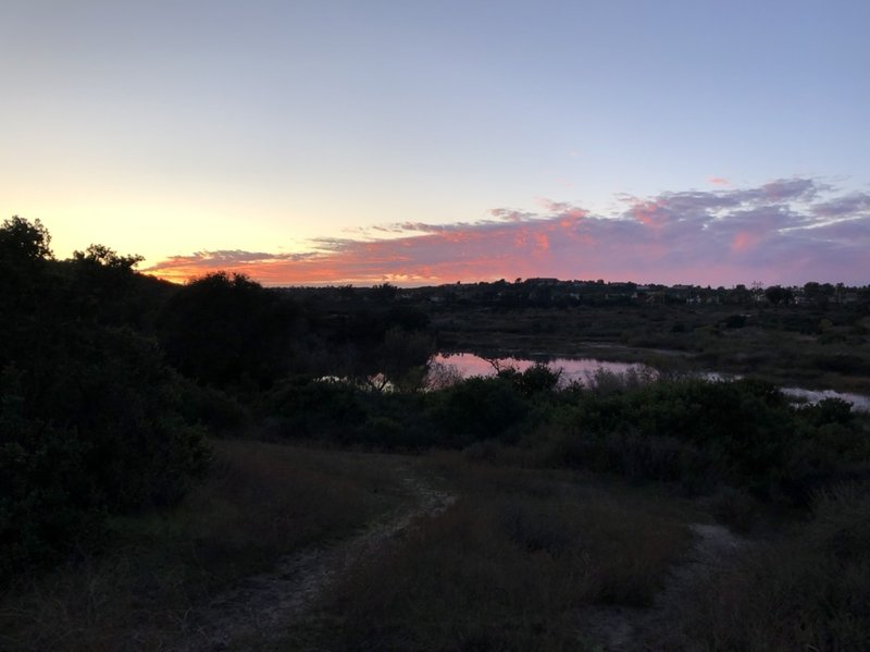 Another lovely sunset over Calavera lake