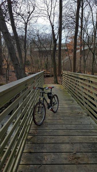 Bridge Crossing On Upper Rock Creek Trail