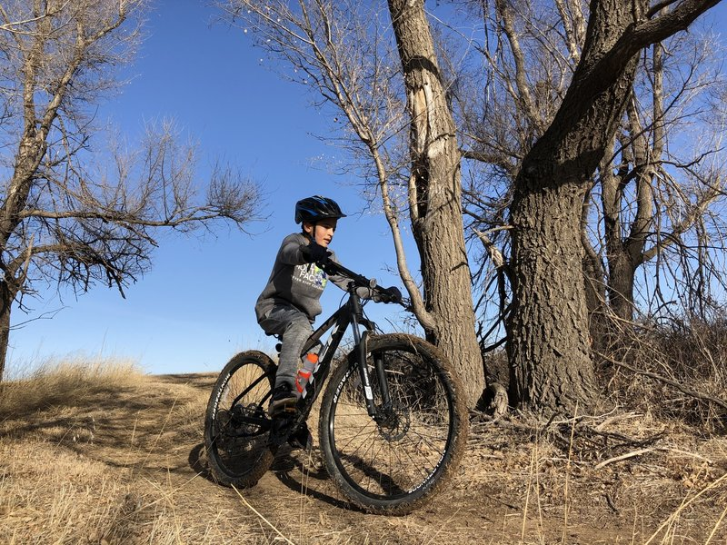This is a great trail for all level riders, bring the family out and have a blast!