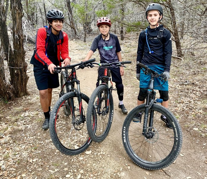 The Lake Travis 8th grade shred crew :)