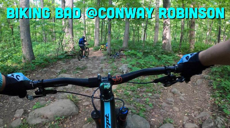 Biking Bad - 1st MTB trail ride with Skyler & Luigi
