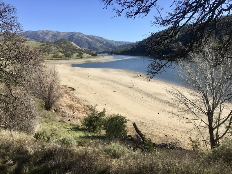 Drought at Lake Del Valle 2019