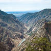 View of Royal Gorge and Arkansas River