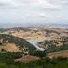 Calero Reservoir overlook