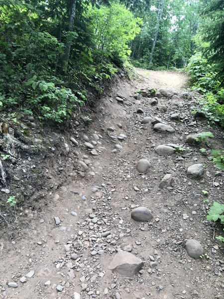 This trail was pretty challenging but it has a wide variety of terrain.