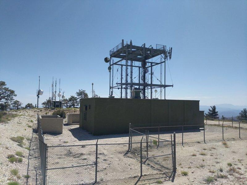Radio tower installation.