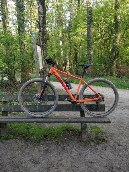 Bike needs rest!