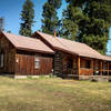 """Sheriff Longmire's cabin. This location stood in for rural Absaroka, Wyoming in """"Longmire"""", the long running fictional contemporary western crime series."""