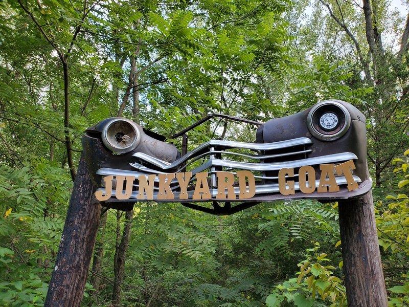 Trailhead entrance