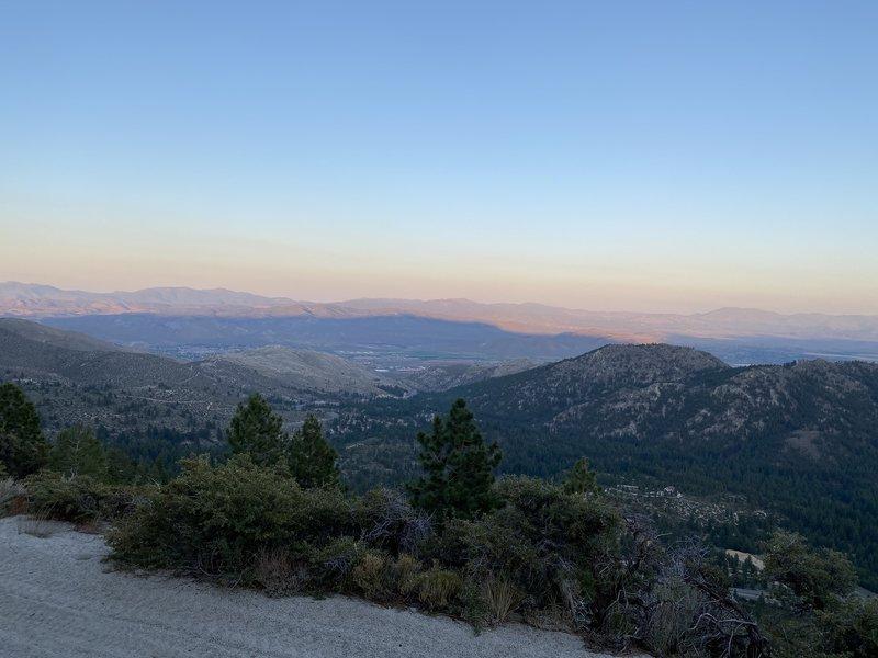 Kings Canyon Fire Road - More amazing views of Douglas County