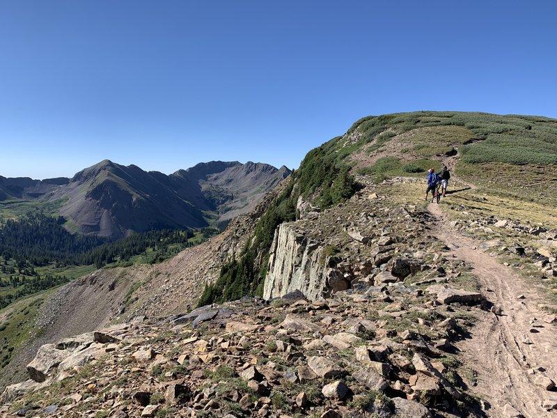 Views along ridge