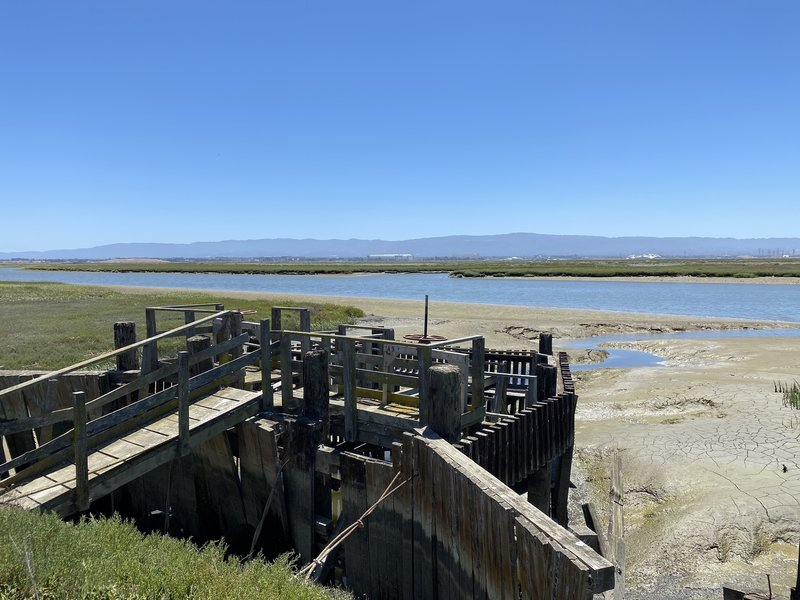 Alviso Slough Trail - Historic features along the trail