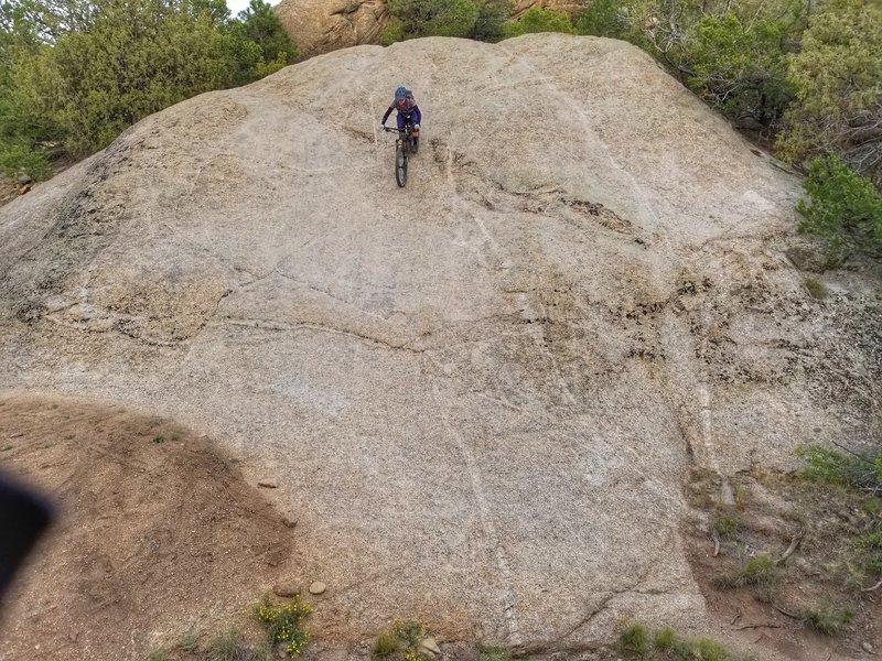 Rock slab on Vitamin B!