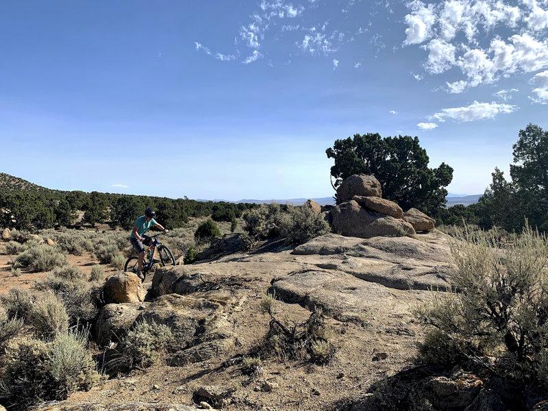 Practice loop trail in Three Peaks.