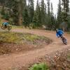 Rain day, Green Chile Trail at Taos Ski Valley