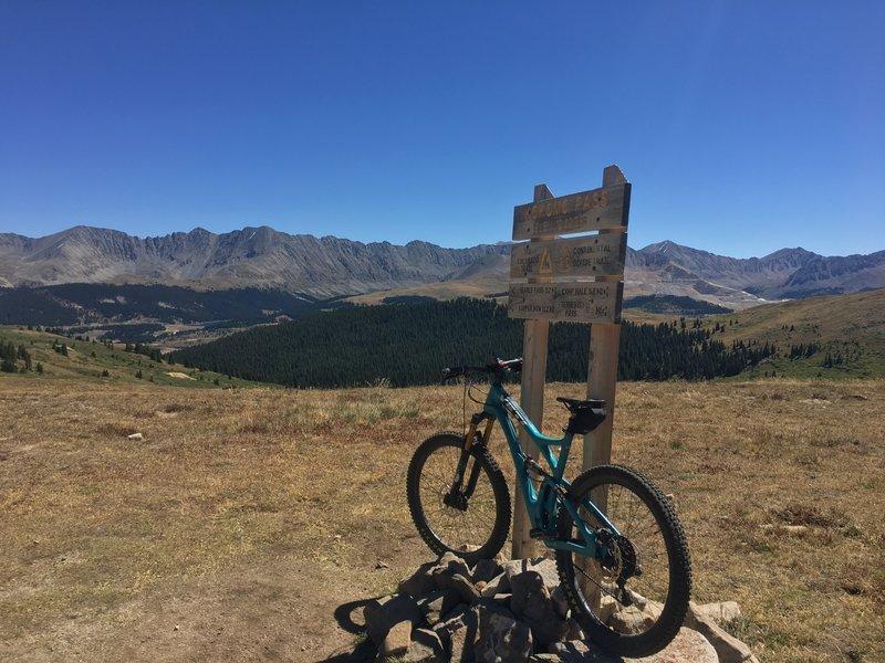 Top of Kokomo Pass