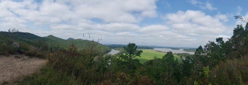 Pinnacle viewpoint Arkansas River