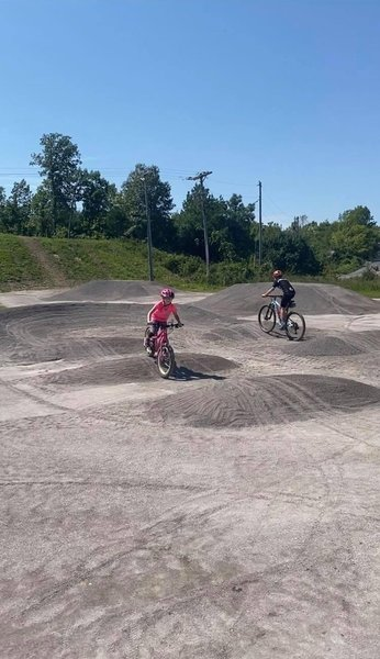 Pumps & Berms in the Skills/Kids Area