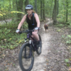 Trail Dog Action is always fun