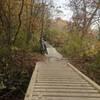 Lower Lizard narrows bridge.