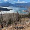 Views of Lake Dillon from Tenderfoot