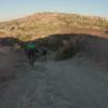 Peralta Hills descent