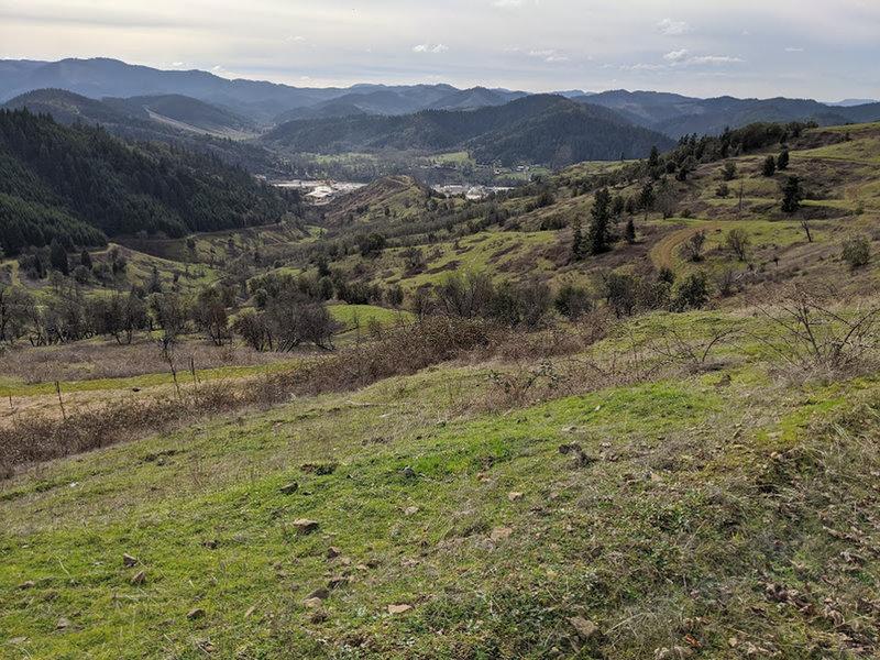 Roberts Mountain views of Dillard