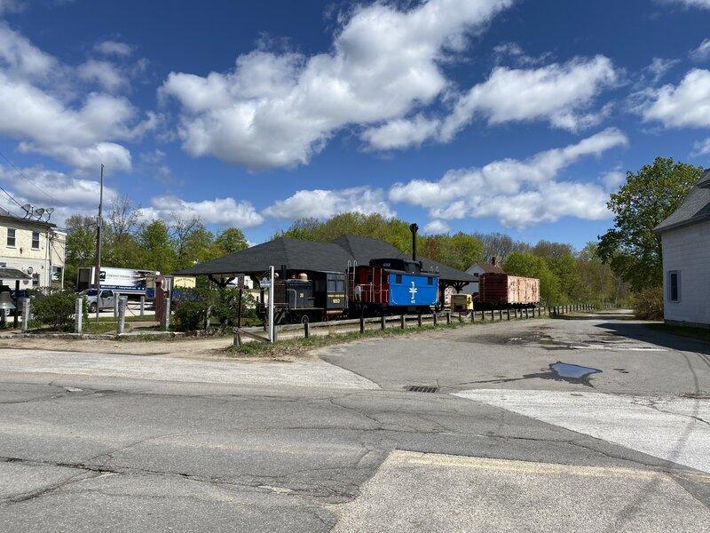 Railroad museum in Raymond