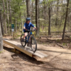 Great time! Entire family 7, 9 and 11 year old were able to ride Faz track and The Matrix with no problems. Fun, fast and open trail and everyone had to ride the seesaw. d everyone rode the