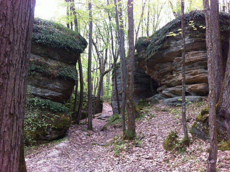 Rocky Gap trail namesake