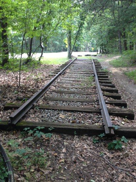 Remnant of the historic Monte Sano Railway.