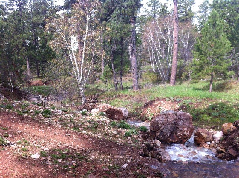 Houston creek drainage