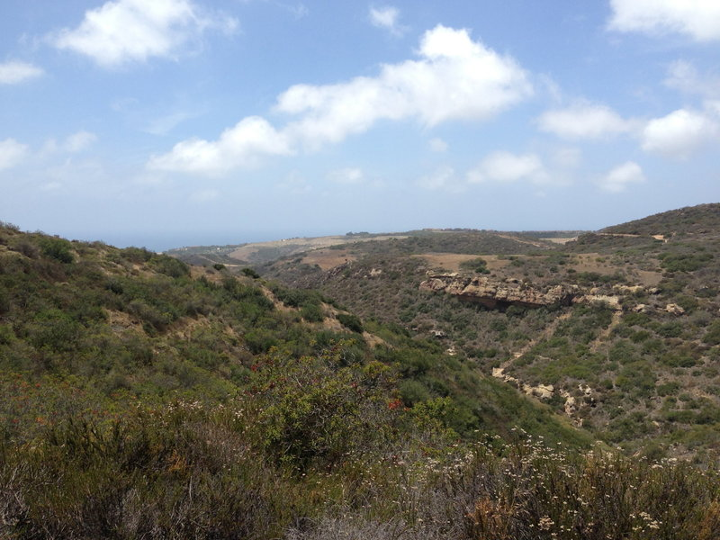 El Moro Canyon from Rattle Snake Trail