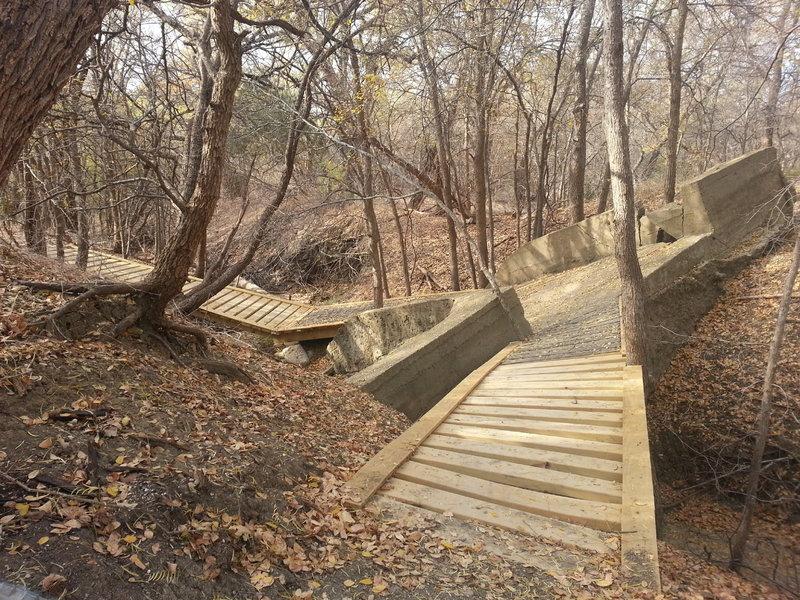 Spillway bridge on Ranger