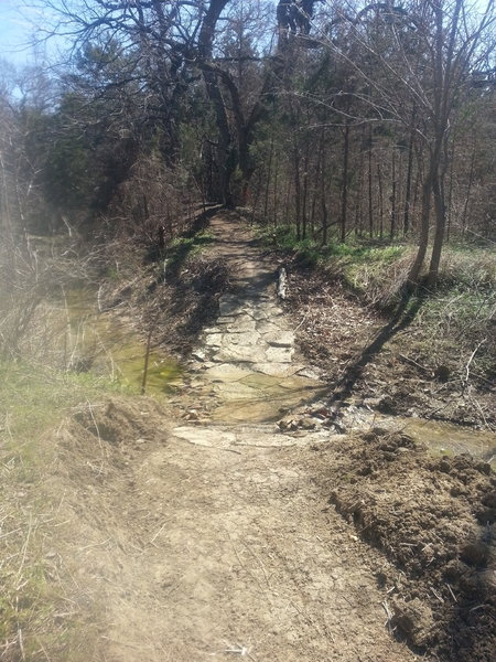 Ranger extension - wet creek crossing