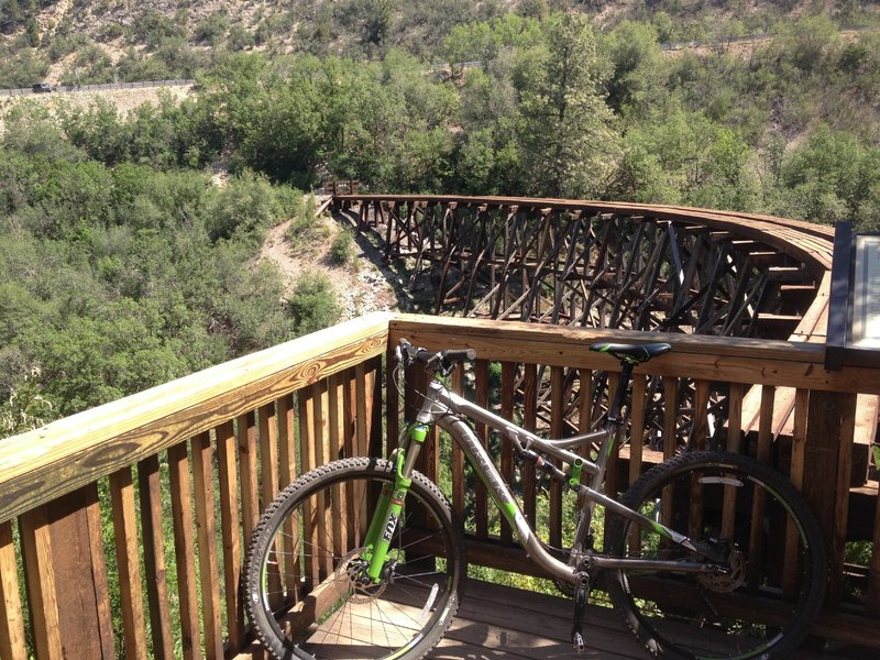 The Overlook at Mexican Canyon Trestle