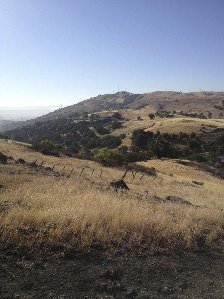 Looking East towards Coyote Peak