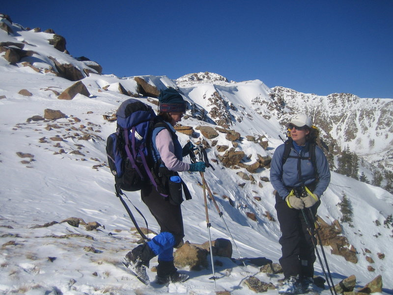 Nearing the top of Galena Mountain