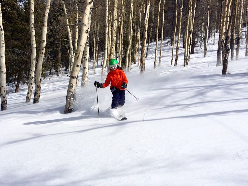 Finishing off the aspens at the bottom of the Way WFO.