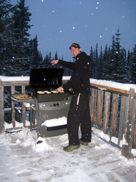 The 11,000' grillmaster!