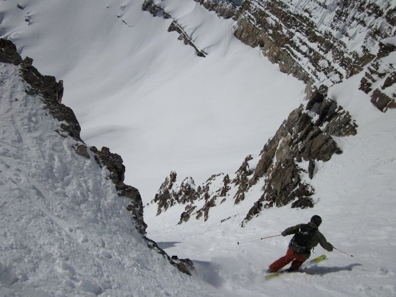 Jay Hause takes on the lower coulie of Twice is Nice - March 2011