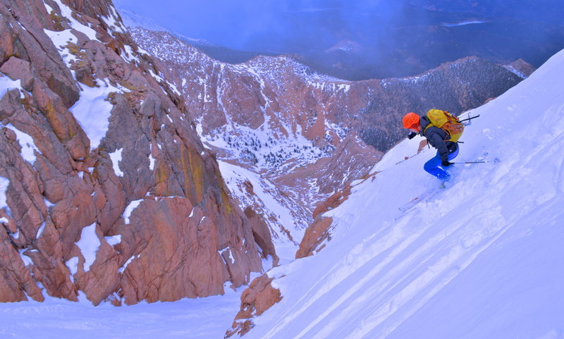 Turning back into the final pitch before hitting the bootpack.