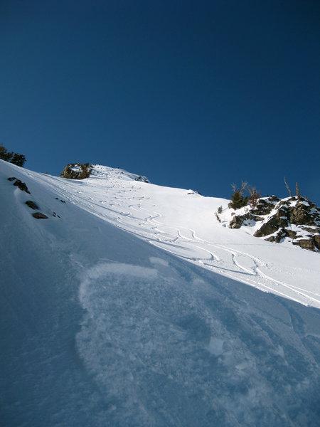 Slayin' Albright Peak.