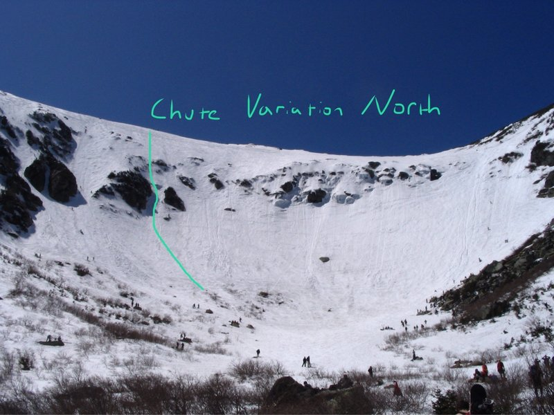 Chute Variation North Route