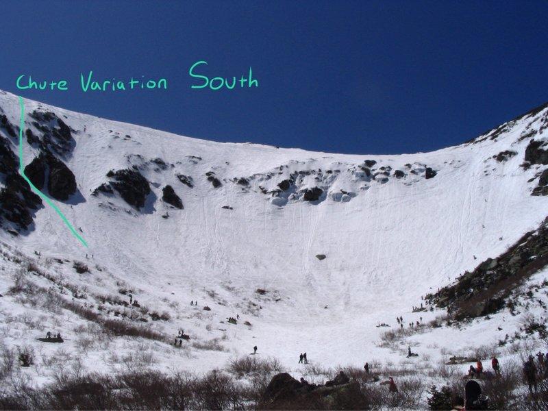 Chute Variation South