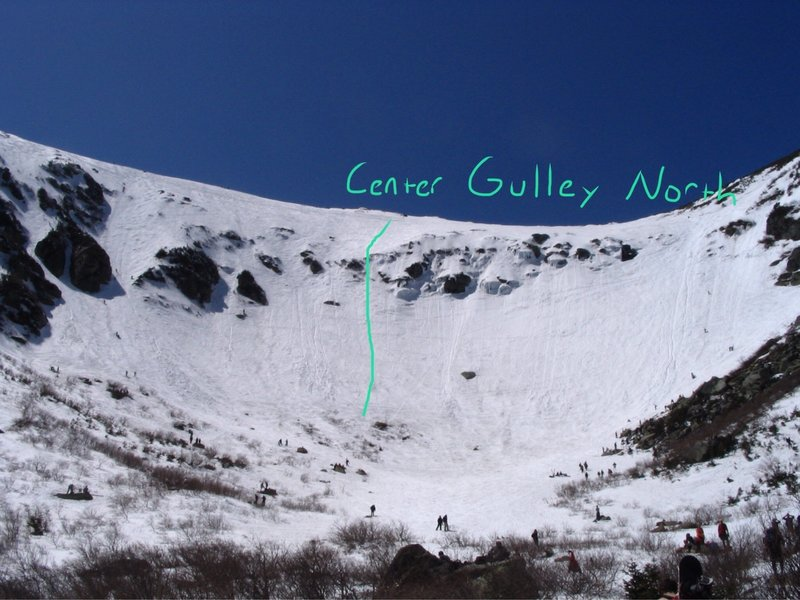 Center Gulley North