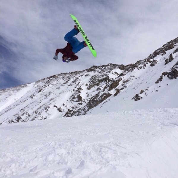 Getting inverted in the backcountry