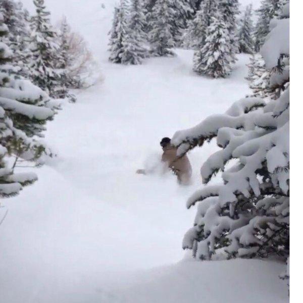 Going deep at Loveland Pass